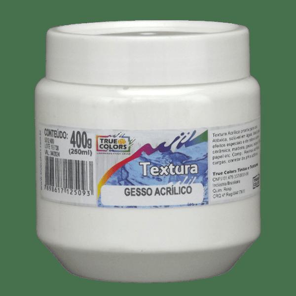 Gesso-Acrilico-True-Colors-250ml-Textura-Artistica