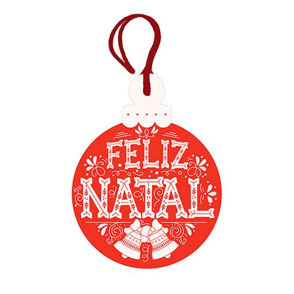 Placa-TAG-MDF-Decorativa-Natal-Litoarte-DHT4N-008-8x6cm-Bola-Feliz-Natal