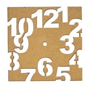 Relogio-de-Parede-Quadrado-Numeros-em-MDF-Palacio-da-Arte-20x20cm