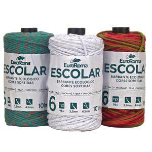 Barbante-EuroRoma-Escolar-n°6-4-6-Fios-101m-Colorido