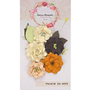 Flores-de-Papel-Artesanal-e-Perfumadas-Chloe-00010-99-Torta-Holandesa-II