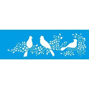 Stencil-Litocart-10x30cm-LSBC-041-Raminho-e-Passaros