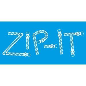 Stencil-Litocart-15x30cm-LSBCG-046-Zip-It
