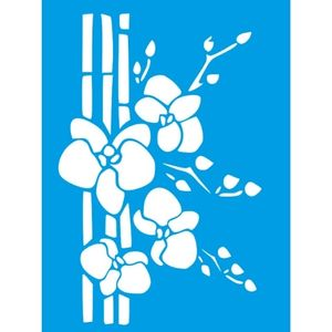 Stencil-Litocart-20x15cm-LSM-299-Orquidea