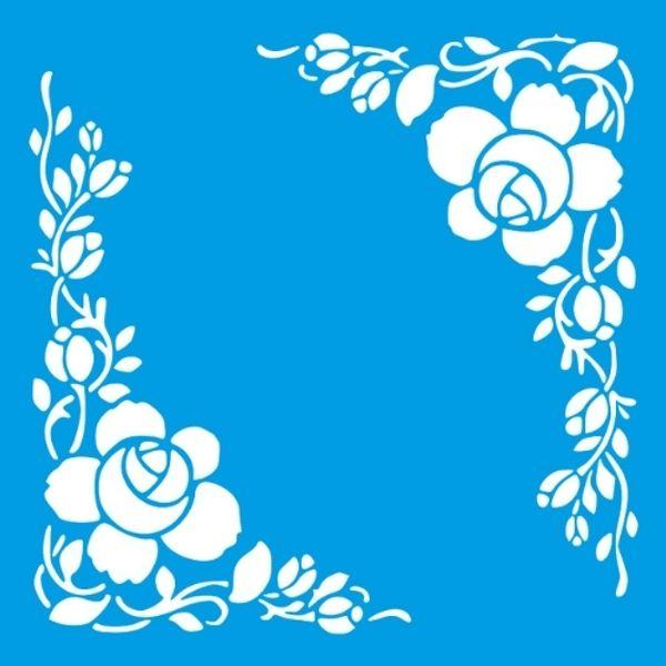 Stencil-Litocart-20x20cm-LSQ-237-Cantoneira-Rosas