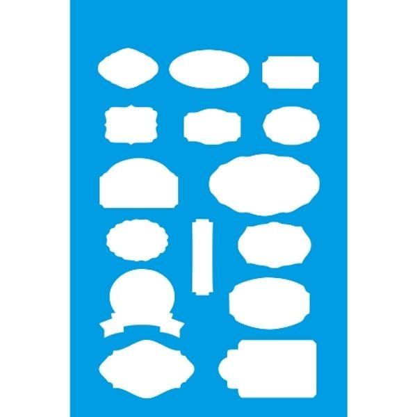 Stencil-Litocart-30x20cm-LSS-090-Tags
