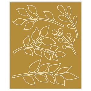 Aplique-em-Papel-Laminado-Dourado-Litoarte-FLR-005-Ramos-7x85cm