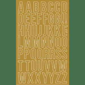 Aplique-em-Papel-Laminado-Dourado-Litoarte-LFDL4-001-Letras-10x16cm