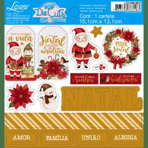 Apliques-em-Papel-Recortado-Die-Cut-Natal-Litoarte-LDCHN-003-Natal-Feliz