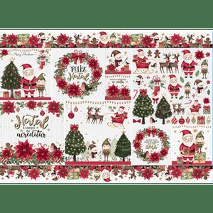 Papel-Decoupage-Natal-Litoarte-34x49cm-PDN-145-Feliz-Natal