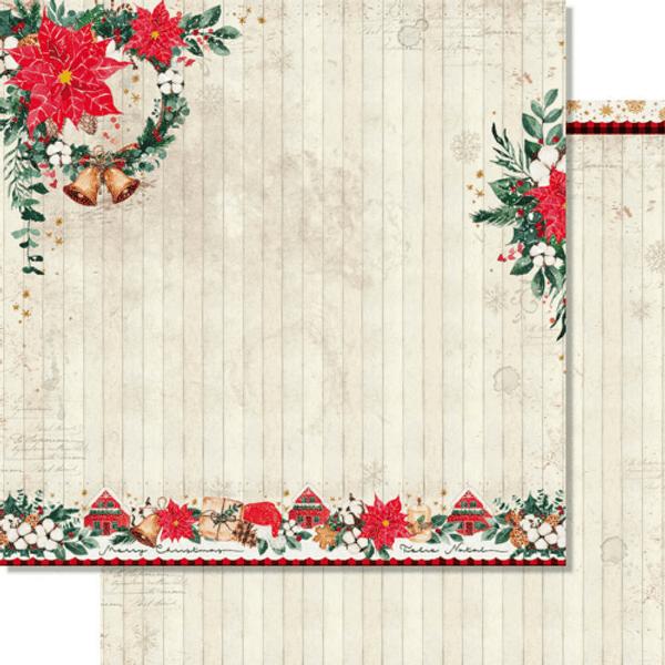 Papel-Scrapbook-Natal-Litoarte-305x305cm-SDN-146-Guirlanda-Natalina