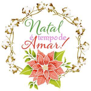 Stencil-Natal-Litoarte-25X25cm-STXXVN-004-Natal-e-Tempo-de-Amar